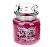 VILLAGE CANDLE CHERRY BLOSSOM 390G