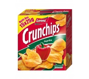 LORENZ CRUNCHIPS MULTIBOX PAPRIKA 15X25G