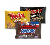 BOUNTY, MARS, MILKY WAY, SNICKERS, TWIX MINIS 333g